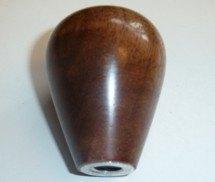 Wood gear Knob